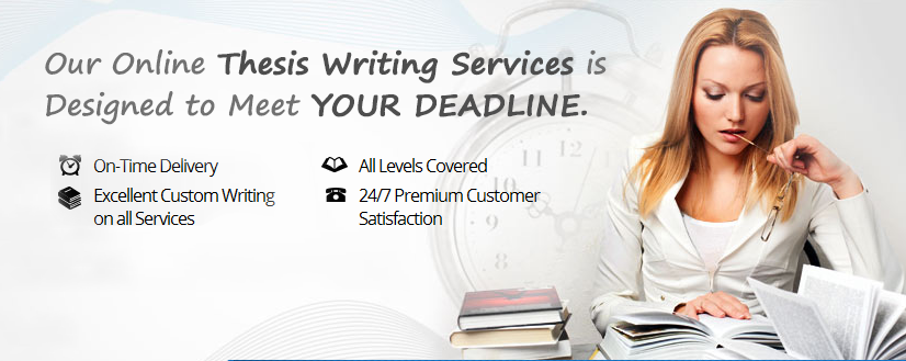 Thesis and dissertation services